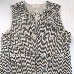 Tory Burch sleeveless silk top